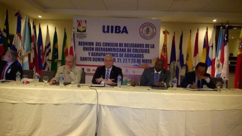 Participación del Lic. Carlos Lopez, Vicepresidente de la FIA en UIBA, Santo Domingo mayo 2015